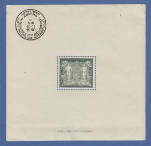 Belgien 1930 Blockausgabe Mi.-Nr. Block 1 **  ANSEHEN !