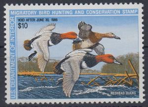 USA 1988 Gebührenmarke