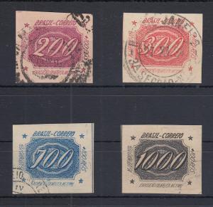 Brasilien 1934 Briefmarken-Ausstellung in Rio de Janeiro Mi.-Nr. 409-412 gest.