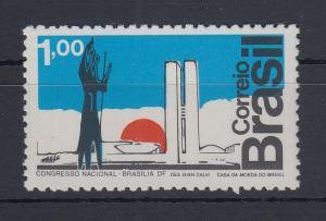 Brasilien 1972 Nationalkongress in Brasilia Mi.-Nr. 1350 **