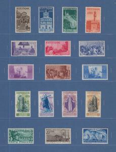 Sammlung Italien 1945-1972 Mi.-Nr. 706-1388 kpl. ** in einwandfreier Qualität !