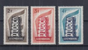 Luxemburg 1956 EUROPA Mi.-Nr. 555-557 kpl. Satz 3 Werte **