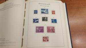 DDR 1949-1971 Sammlung fast komplett gestempelt im Leuchtturm-Vordruckalbum