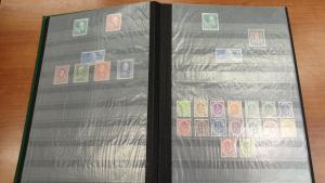Bundesrepublik 1949-1974 doppelt geführte Sammlung im Einsteckbuch