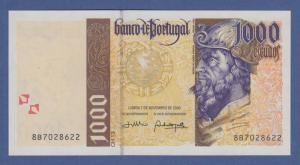 Banknote Portugal 1000 Escudos Pedro Alvares Cabral