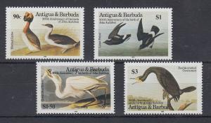 Antigua und Barbuda Mi.-Nr. Satz 851-854 postfrisch ** / MNH Vögel