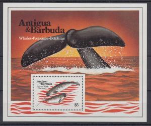Antigua und Barbuda Mi.-Nr. Block 71 postfrisch ** / MNH Walflosse