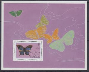 Antigua und Barbuda Mi.-Nr. Block 92 postfrisch ** / MNH Schmetterling