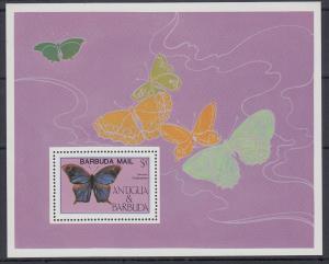 Antigua und Barbuda Mi.-Nr. Block 94 postfrisch ** / MNH Butterfly BARBUDA MAIL