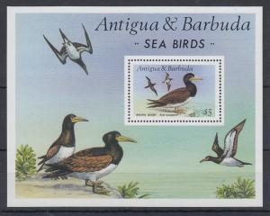 Antigua und Barbuda Mi.-Nr. Block 124 postfrisch ** / MNH Seevögel