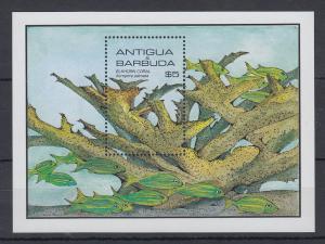 Antigua und Barbuda Mi.-Nr. Block 97 postfrisch ** / MNH Koralle