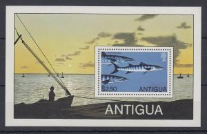 Antigua Mi.-Nr. Block 43 postfrisch ** / MNH Barracuda