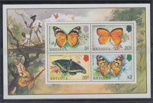 Antigua Mi.-Nr. Block 22 postfrisch ** / MNH Schmetterlinge