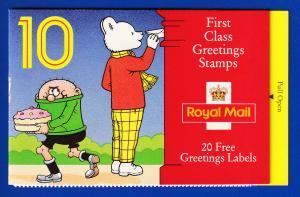 Großbritannien 1995 Mi.-Nr. 1597 Markenheftchen MH 0-178  **/ MNH Grußmarken