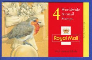 Großbritannien 1995 Mi.-Nr. 1600 Markenheftchen MH 0-177  **/ MNH Rotkehlchen