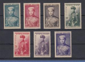 Vietnam Südvietnam 1954 Kronprinz Bao Long Mi.-Nr. 91-97 Satz 7 Werte **