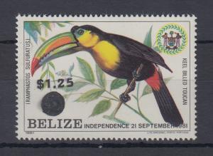 Belize 1983 Toucan Mi.-Nr. A 709 **