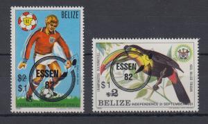 Belize 1982 Verschiedene Motive Mi.-Nr. 632 - 633 **