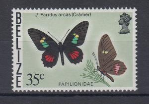Belize 1977 Schmetterling Mi.-Nr. 370 **