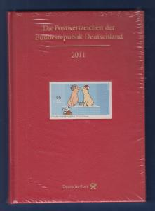 Briefmarken JAHRBUCH Bundesrepublik Deutschland 2011 kpl. bestückt OVP