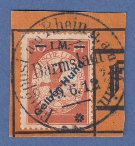 Dt. Reich 1912 Halbamtliche Flugpost 1 M