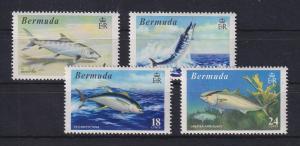Bermuda Fische Mi.-Nr. 281-84 Satz kpl. ** / MNH