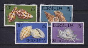 Bermuda Muscheln Mi.-Nr. 408-411 Satz kpl. ** / MNH