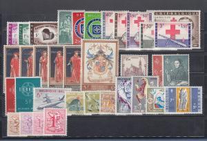 Belgien 1959 Briefmarken-Jahrgang komplett **