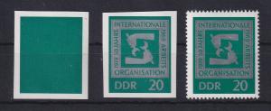 DDR 1969  Serie Phasendrucke Mi.-Nr. 1517 Internat. Arbeitsorganisation
