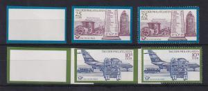 DDR 1971 4 Phasendrucke Mi.-Nr. 1703-04 Tag der Philatelisten