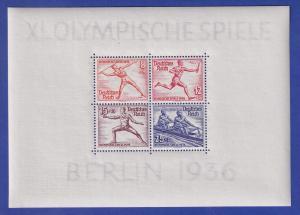 Deutsches Reich Olympische Sommerspiele 1936 Mi.-Nr. Block 6 postfrisch **