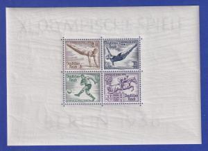 Deutsches Reich Olympische Sommerspiele 1936 Mi.-Nr. Block 5 postfrisch **