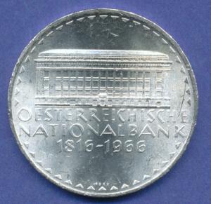 Österreich 50-Schilling Silber-Gedenkmünze 1966, Österreichische Nationalbank