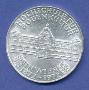 Österreich 50-Schilling Silber-Gedenkmünze 1972, Hochschule für Bodenkultur Wien
