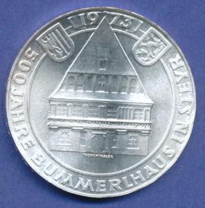 Österreich 50-Schilling Silber-Gedenkmünze 1973, Bummerlhaus Steyr