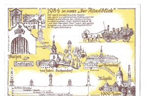 Ansichtskarte 1984  30 Jahre \