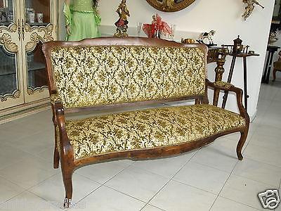 Zierliches Biedermeier 2er Sofa Liege Couch  Diwan  Nr. 6280