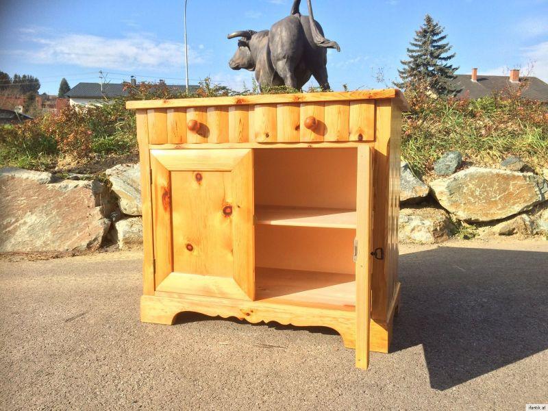 H bsche massive anrichte sideboard kommode zirbenholz for Sideboard zirbenholz