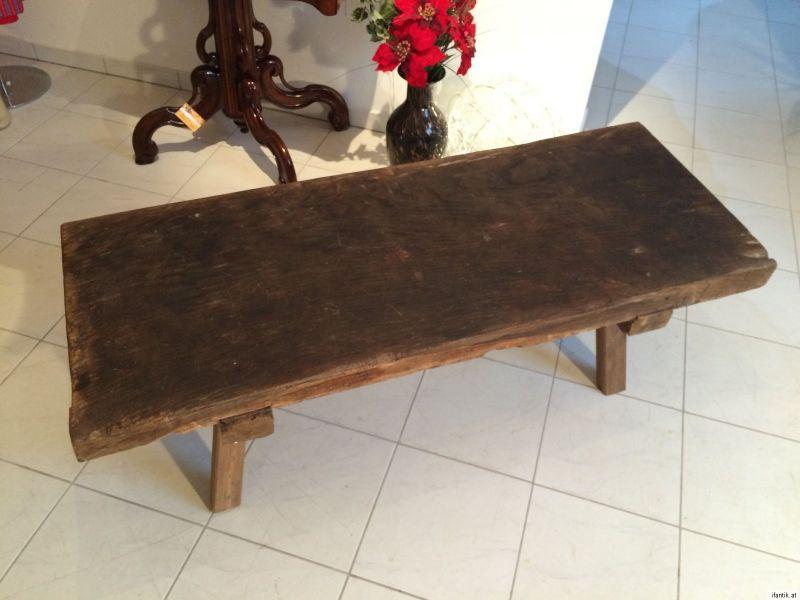 alte urige h ttenbank ski bank doppelbank couchtisch tisch. Black Bedroom Furniture Sets. Home Design Ideas