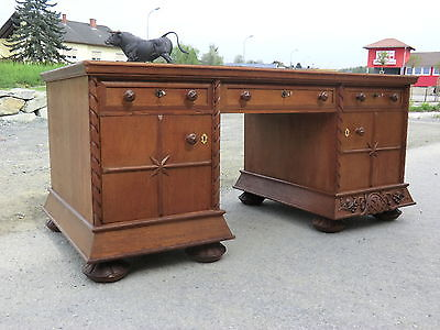originaler sekret r jugendstil art deco schreibtisch freisteher traum nr 5617. Black Bedroom Furniture Sets. Home Design Ideas