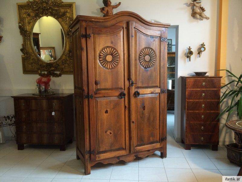 h bscher massive schrank aus mexiko pinienholz traumst ck nr 7990 nr 7990 oldthing. Black Bedroom Furniture Sets. Home Design Ideas