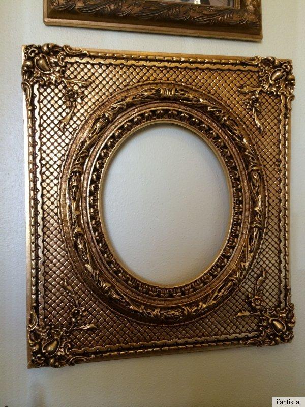 Prächtiger Florentiner Spiegel Rahmen Schlagvergoldet Traum Nr.6882 ...