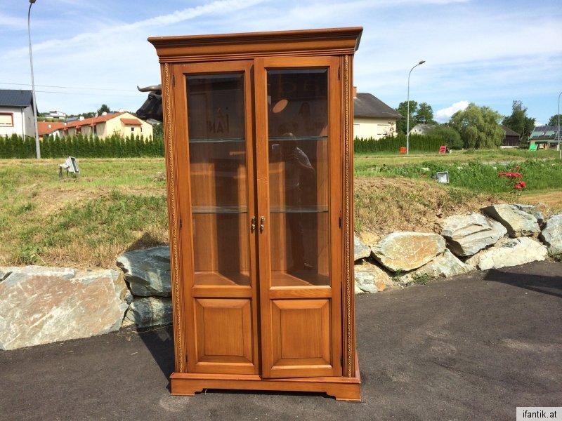 gro e vitrine glasschrank traumst ck barockstil selva m bel nr 6703 nr 401218834645 oldthing. Black Bedroom Furniture Sets. Home Design Ideas