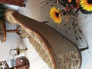 Spätbiedermeier Fledermaus Sofa Diwan Couch Originalstück A1645 10