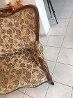 Spätbiedermeier Fledermaus Sofa Diwan Couch Originalstück A1645 5