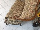 Spätbiedermeier Fledermaus Sofa Diwan Couch Originalstück A1645 8