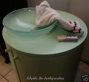 Waschtisch Bad Designer Stück mit Rundbecken 1