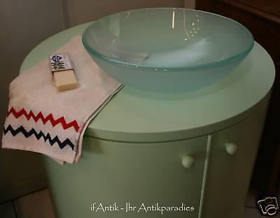 Waschtisch Bad Designer Stück mit Rundbecken 2