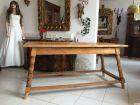 Hübscher massiver Bauerntisch Landhaustisch Tisch Kiefernholz Fichte A1174