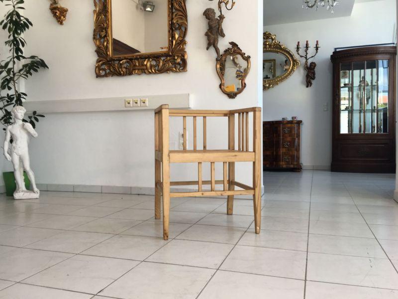Uriger Jugendstil Bauernsessel Stuhl Sessel Armlehnstuhl W2139